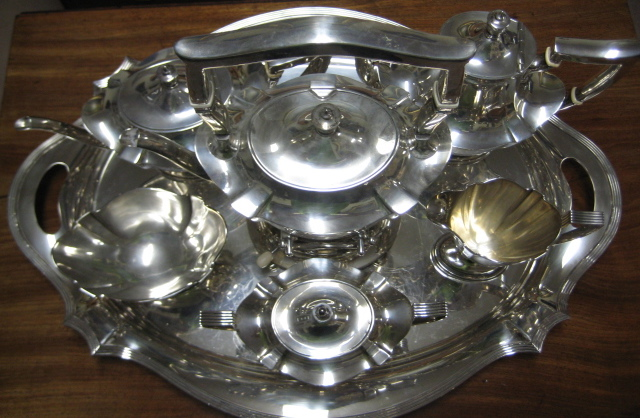 Six Piece Gorham Sterling Silver Tea And Coffee Service