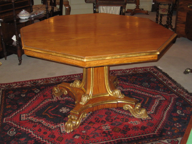 Satinwood Centre Table