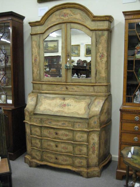 Italian Bureau Bookcase