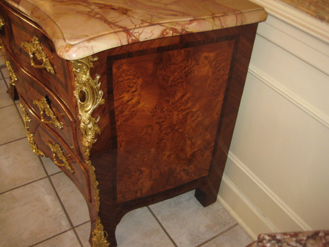 Louis XV Marble Top Commode