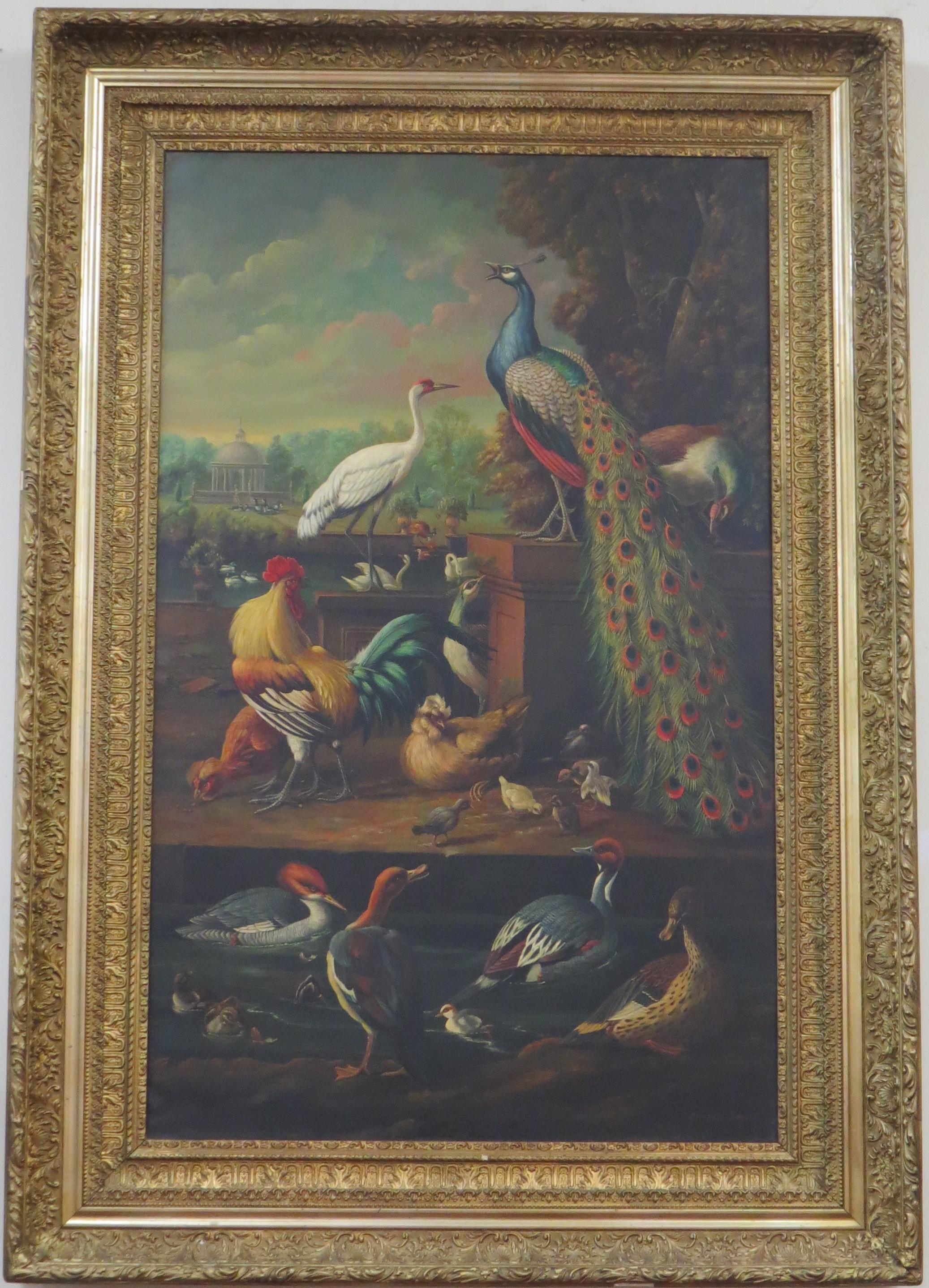 Venetian Oil on Canvas, Signed Giovanni Bonomi