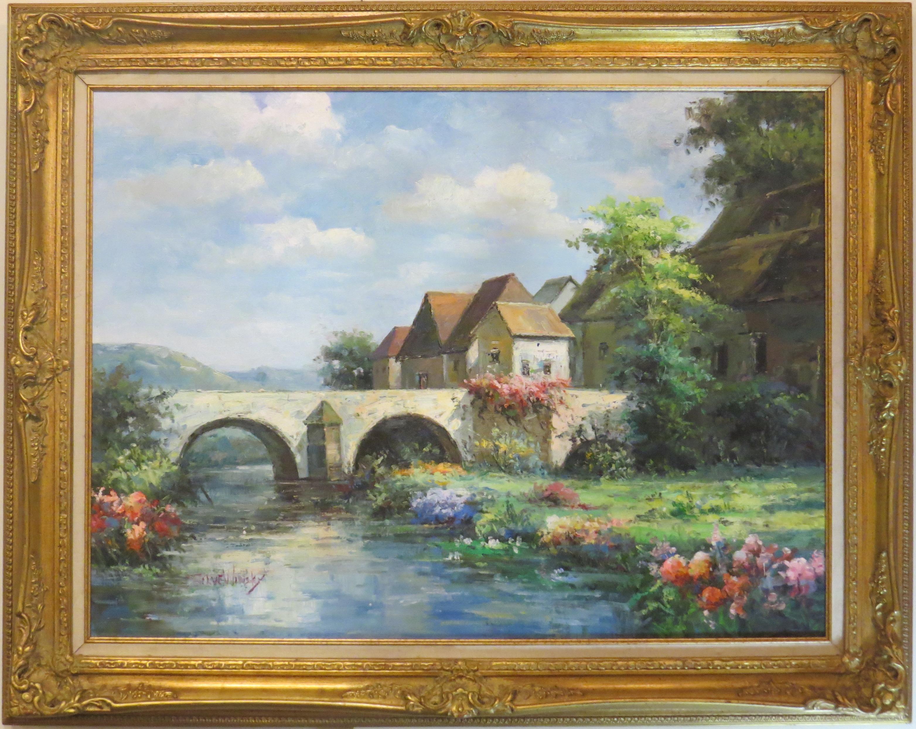 Oil on Canvas, Signed Steve Winsky  (SOLD)
