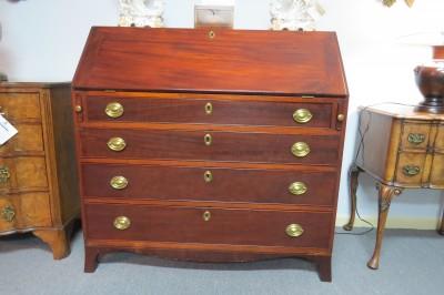 American Mahogany Slant Top Desk