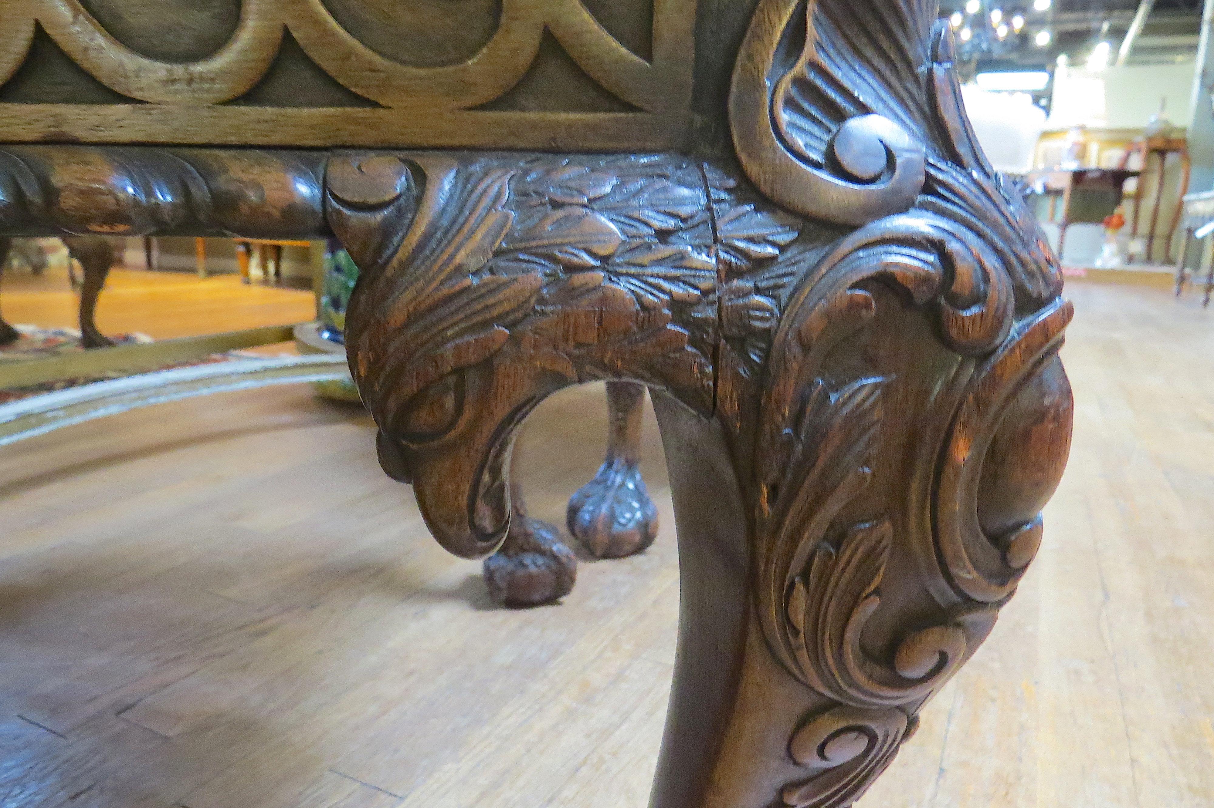 Pair of Irish Chippendale Style Mahogany Chairs