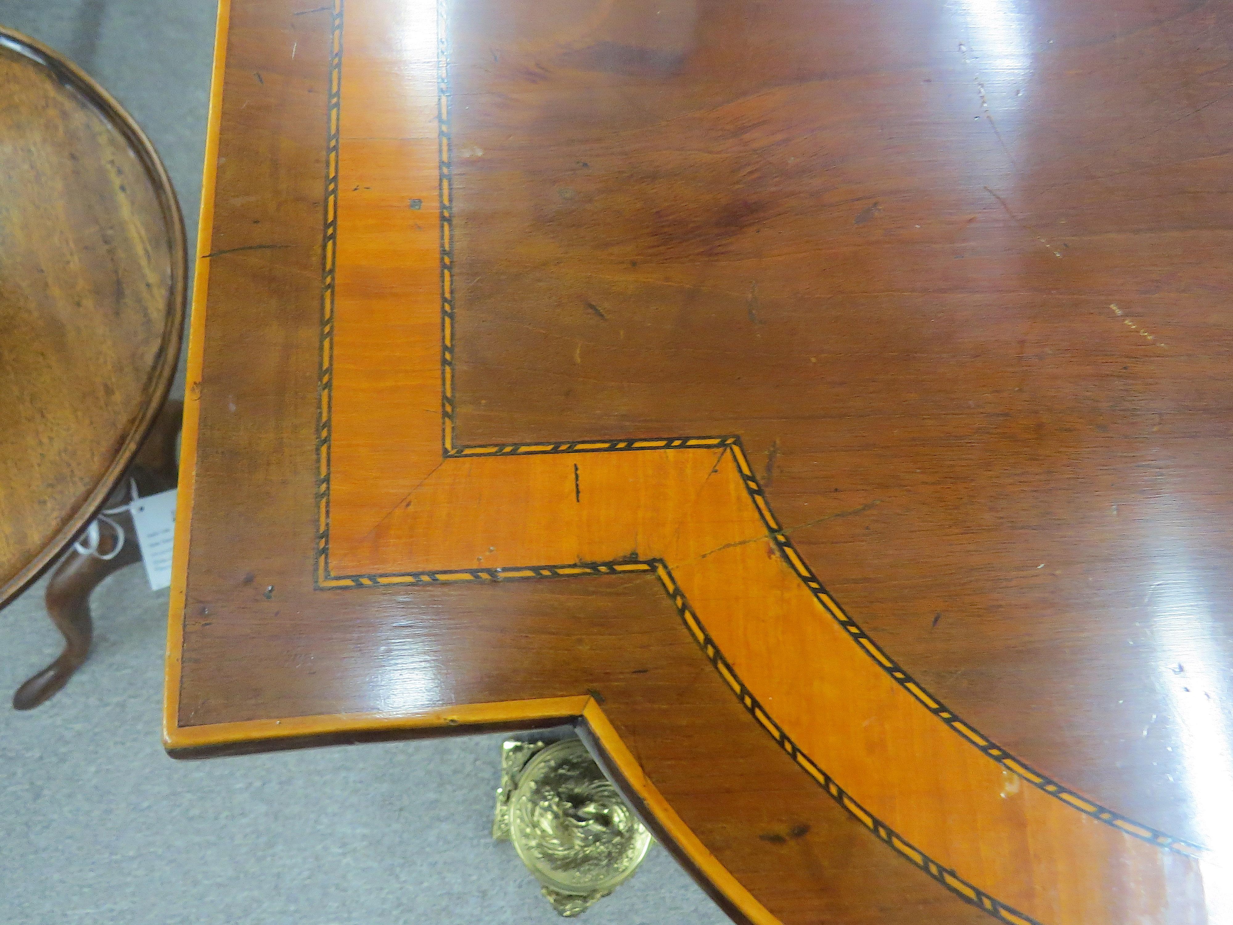18th Century English Sheraton Mahogany Sideboard