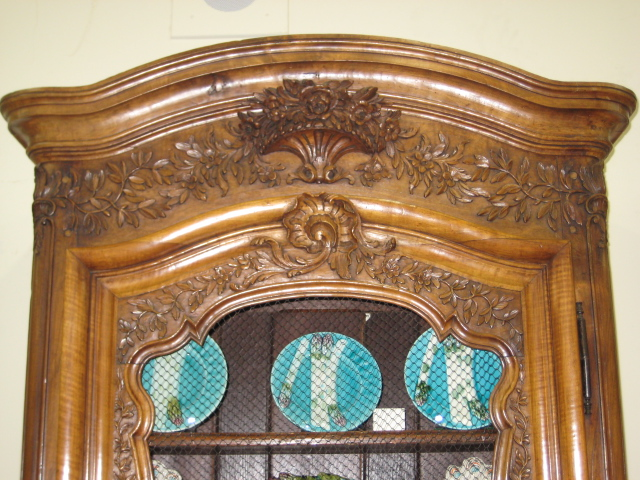 Exceptional French Provincial Walnut Bonnetiere