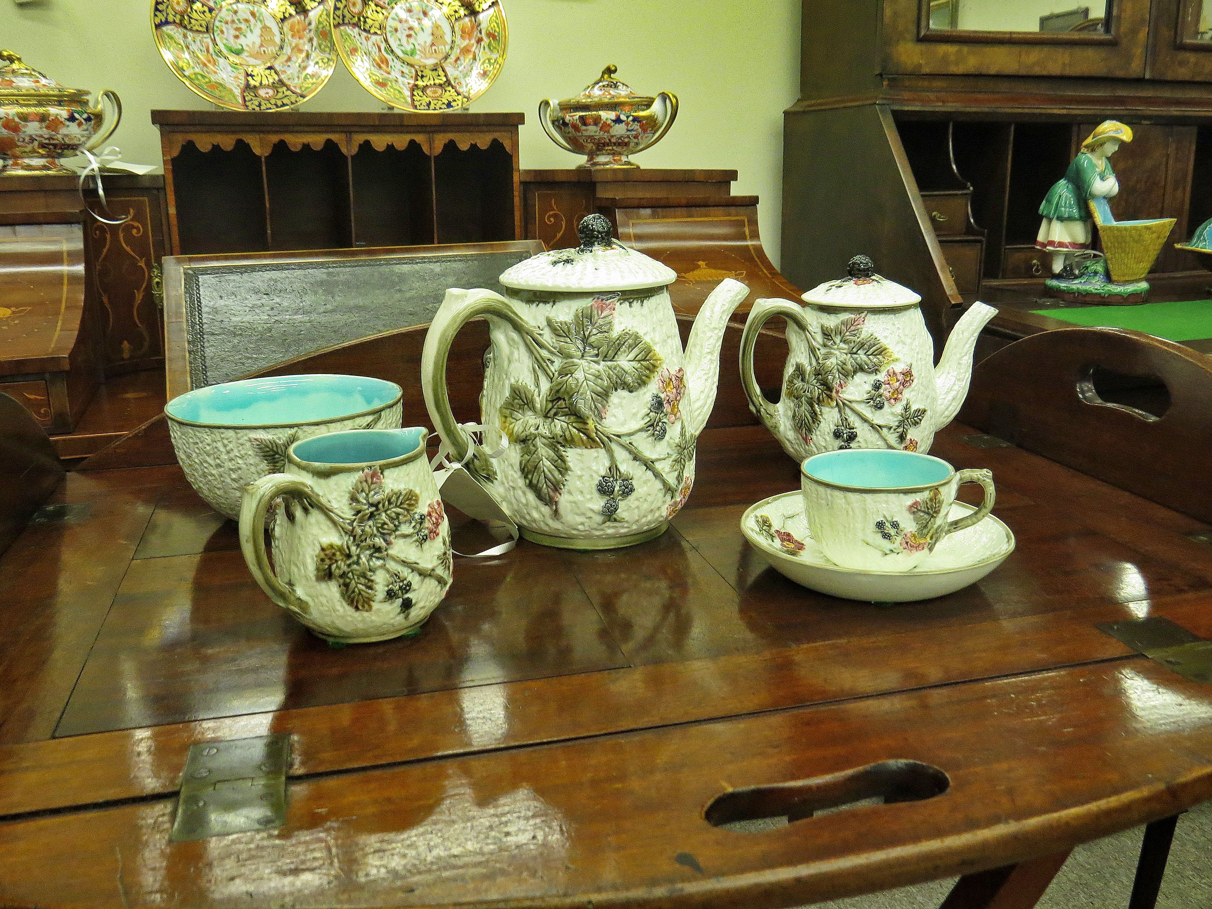 Wedgwood Argenta Ware Partial Tea Service