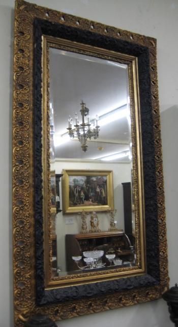 Gold Gilt Bevelled Edge Mirror