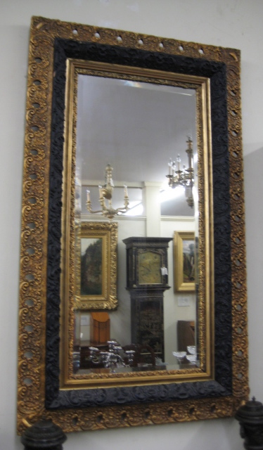 Gold Gilt Bevelled Edge Mirror