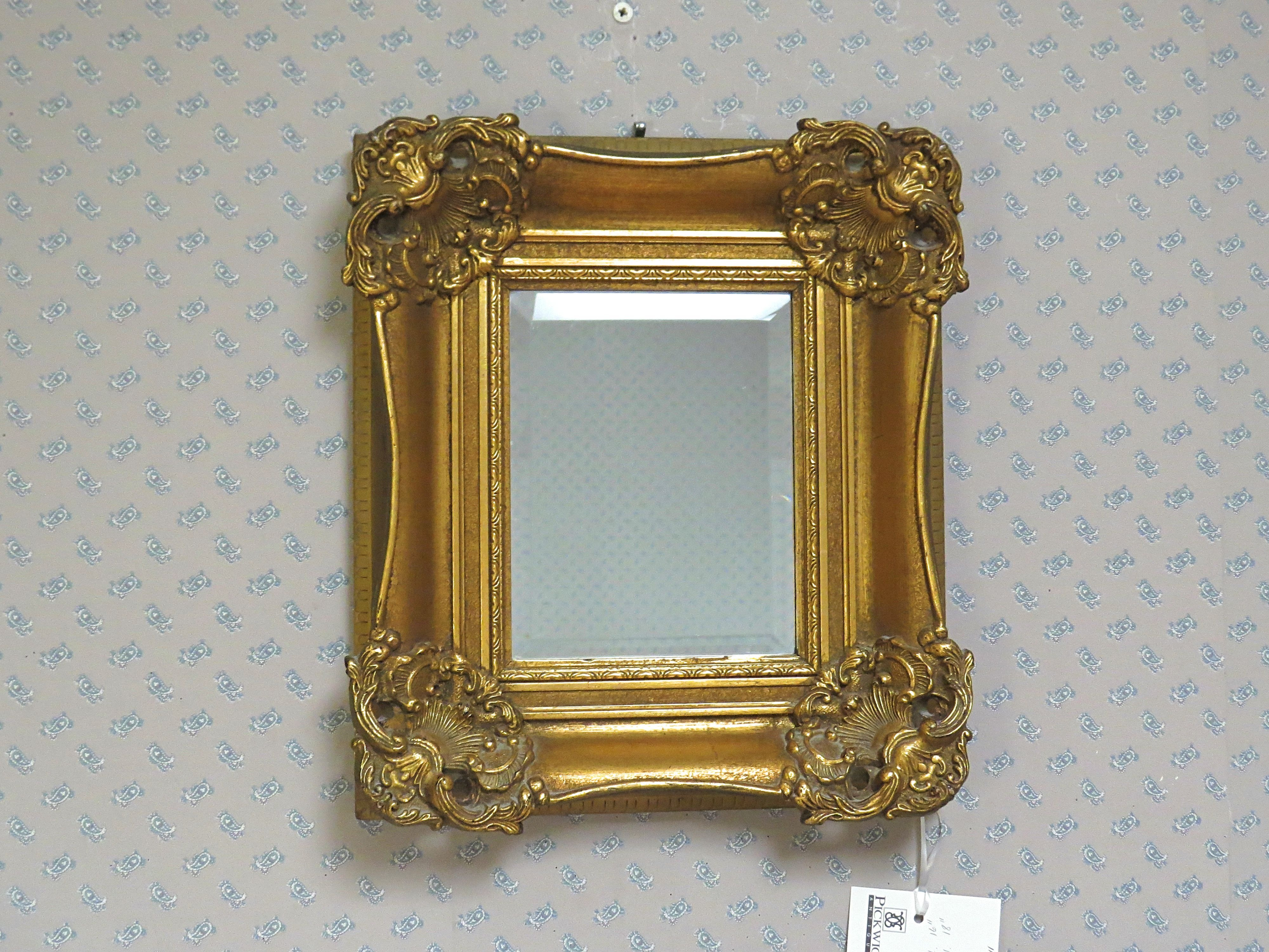 Gold Framed Decorative Mirror