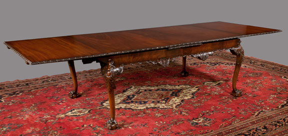 Chippendale Mahogany Dining Table