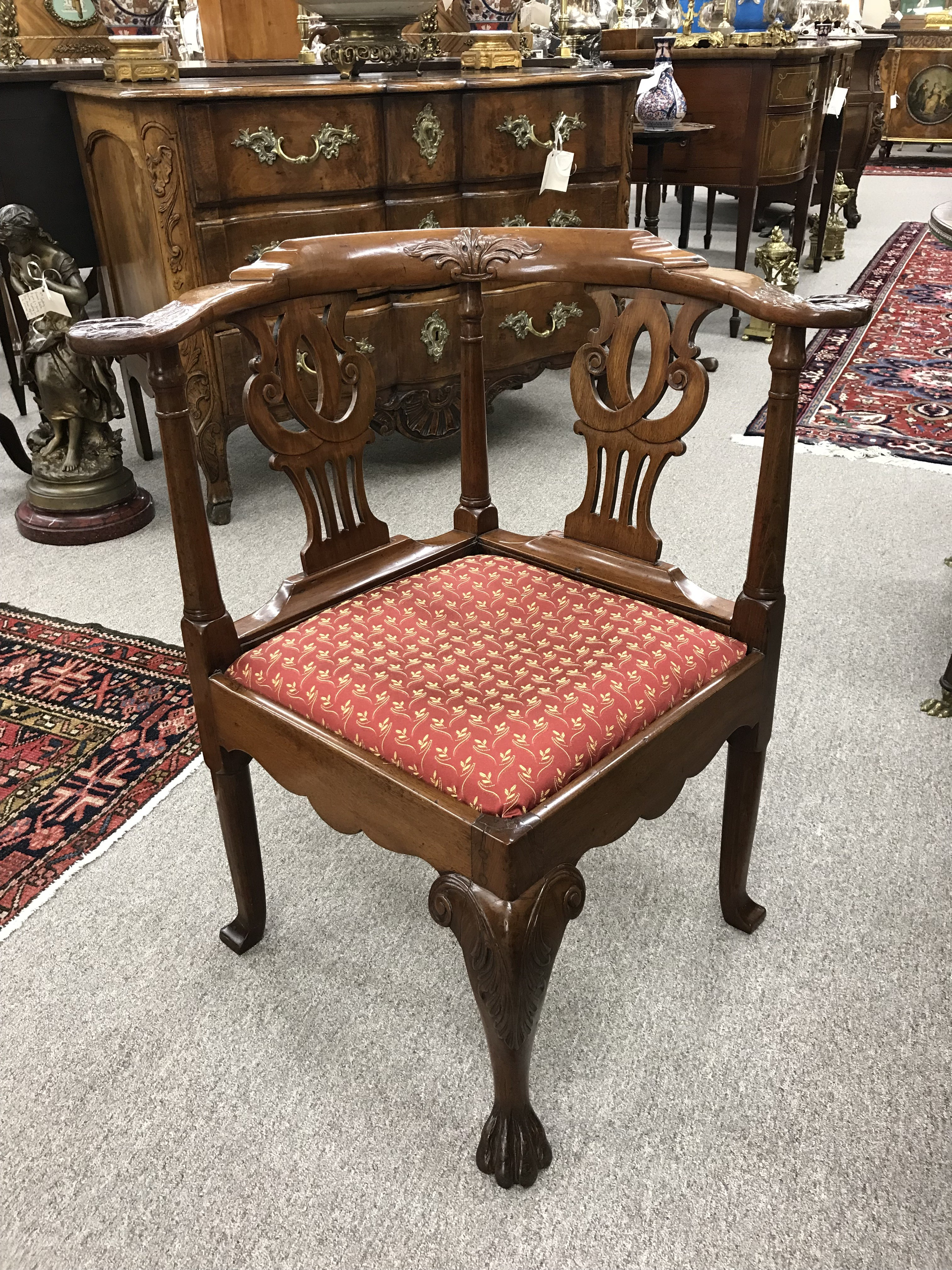 18th Century English Corner Chair