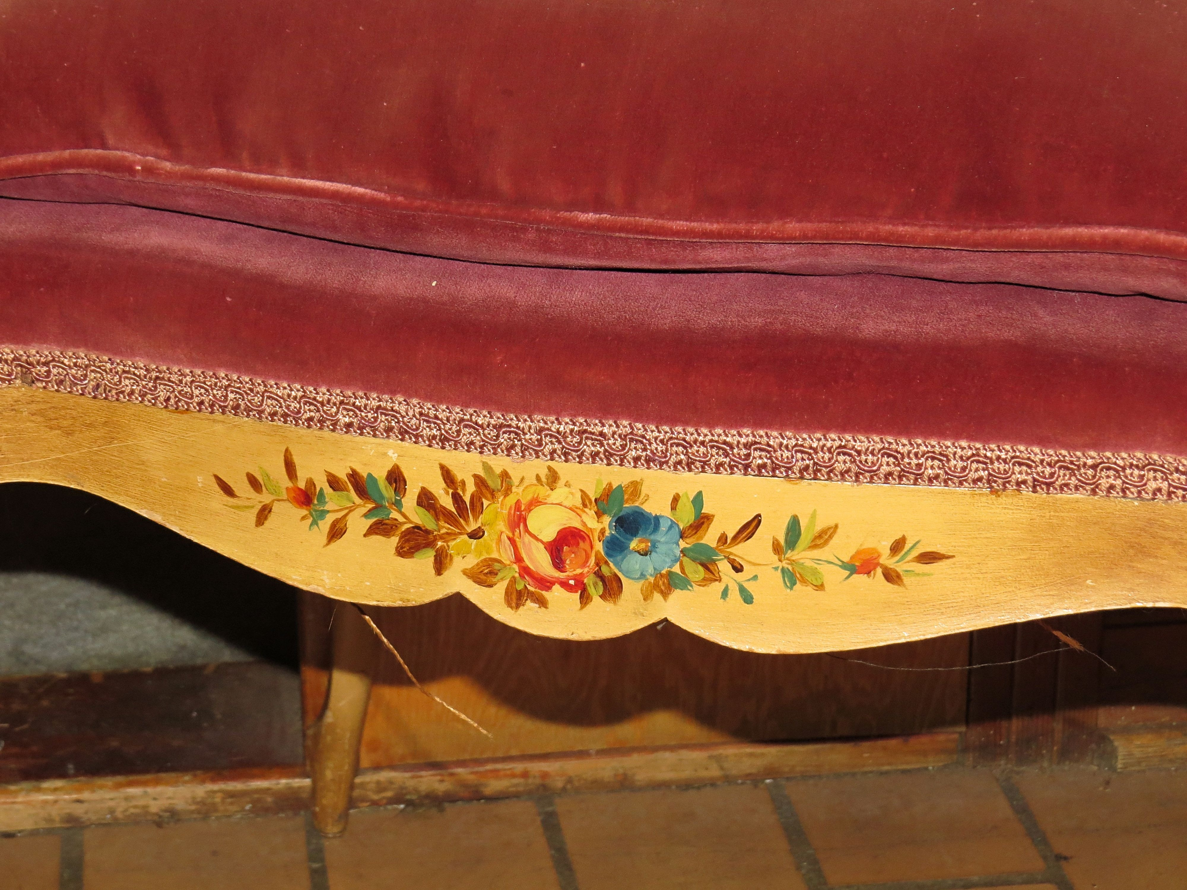 A Petite Ladies Dressing Table Chair