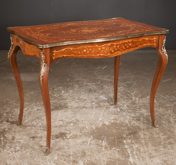 Louis XV Bronze Mounted Salon Table