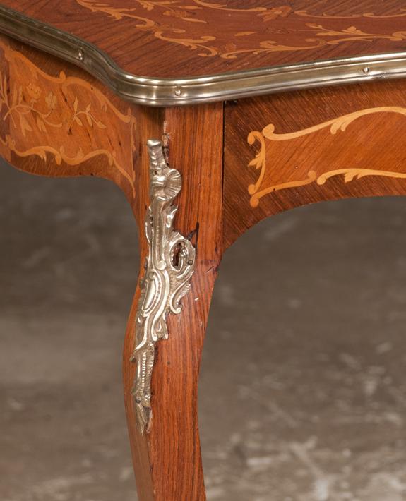 Louis XV Bronze Mounted Salon Table