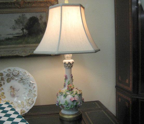 Dresden Porcelain Lamp
