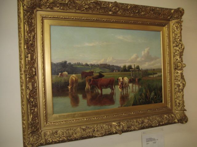 Oil On Canvas By W. Sidney Cooper