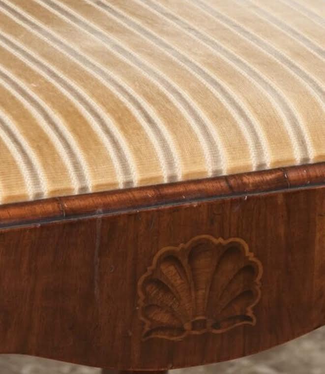 Irish Queen Anne Walnut Side Chair