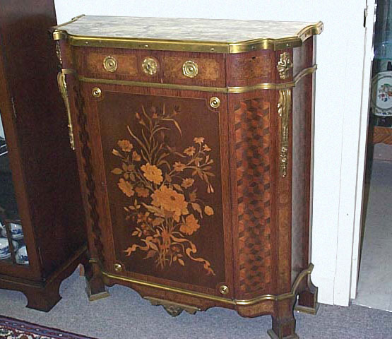 An Important Louis XVI Style Mueble D'appui By Paul Sormani