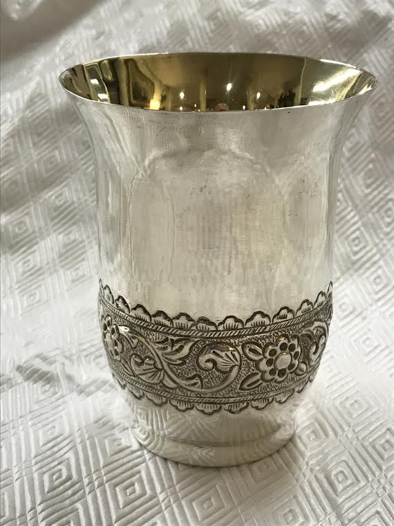A Collection of Six Gorham Sterling Silver Mint Julep Cups