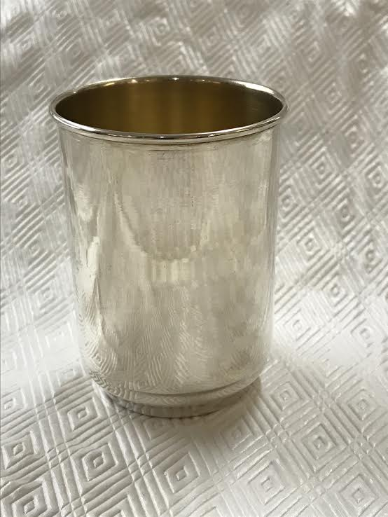 A Collection of Nine Gorham Sterling Silver Mint Julep Cups