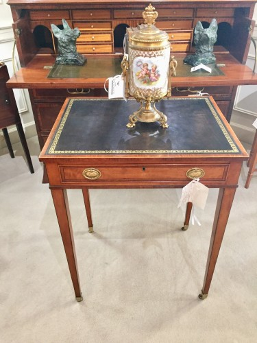 George III Small Satinwood Ladies' Writing Table