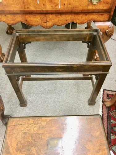 English Burl Walnut Lap Desk