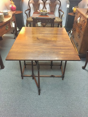 "Chippendale Mahogany ""Spider"" Leg Table"