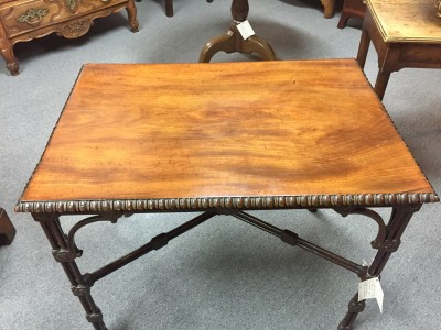 Chippendale Mahogany Tea Table