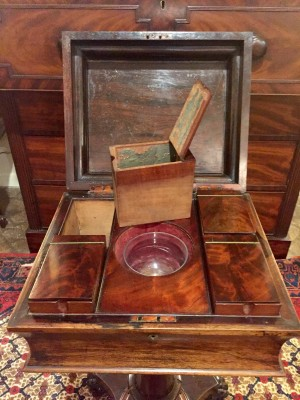 Rosewood Tea Caddy
