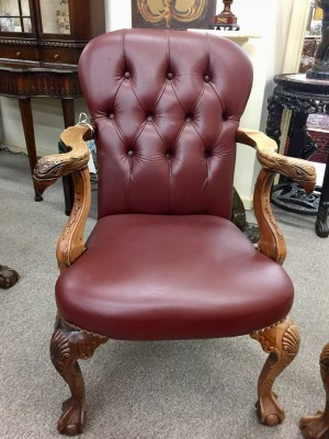 A Pair of Georgian Walnut Chairs  (SOLD)