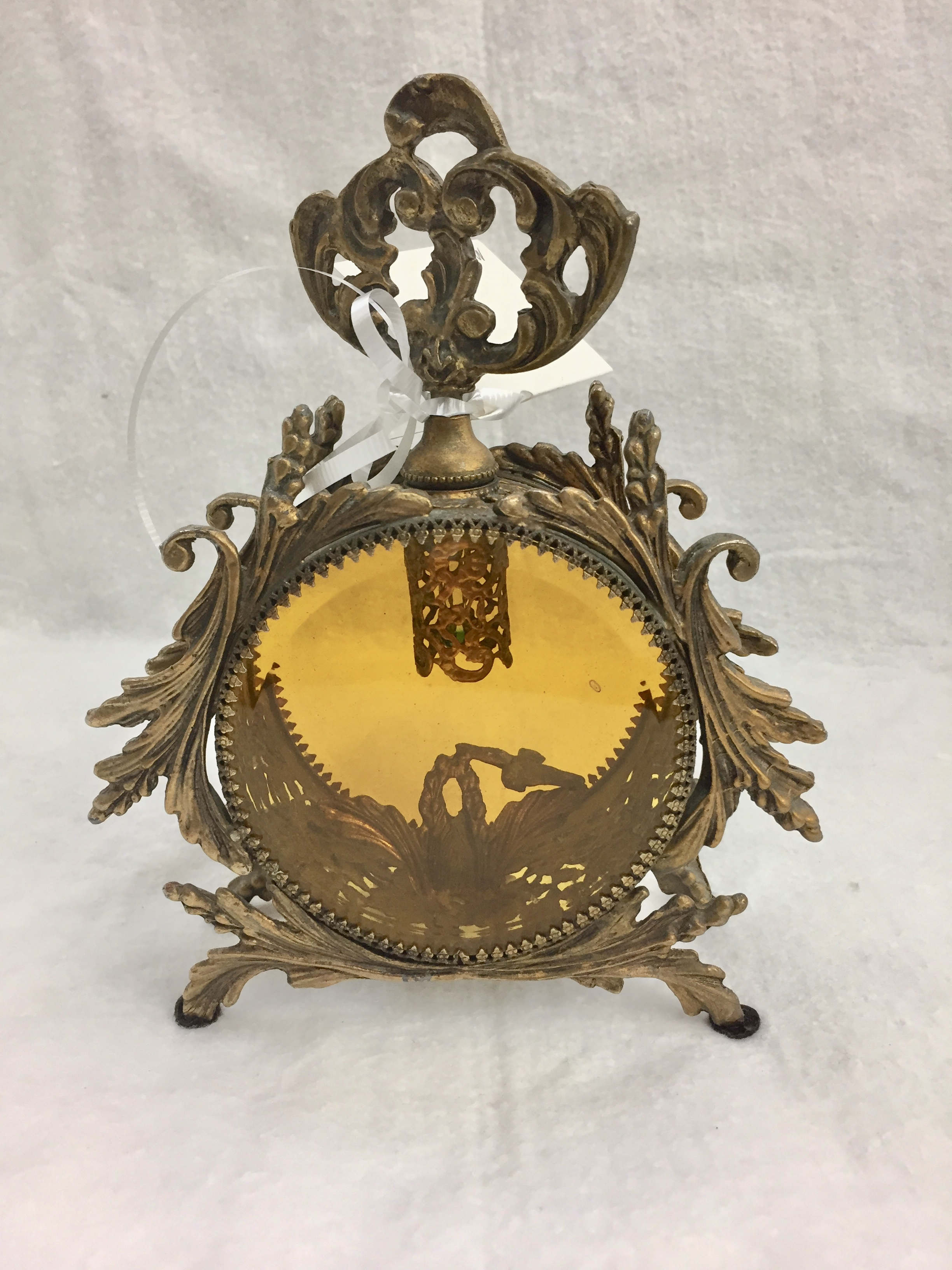 Decorative Ormolu Perfume Bottle