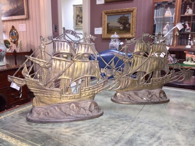 Decorative Brass Ships