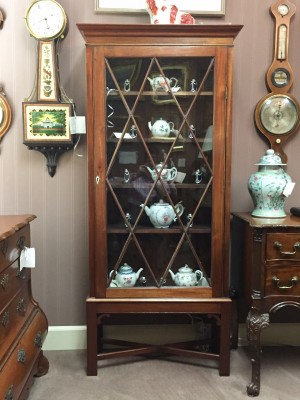 Georgian Mahogany Display Cabinet