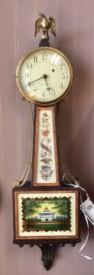 Waltham Mahogany Banjo Clock