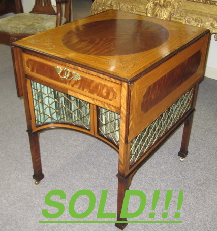 A Chippendale Style Pembroke Table  (SOLD)