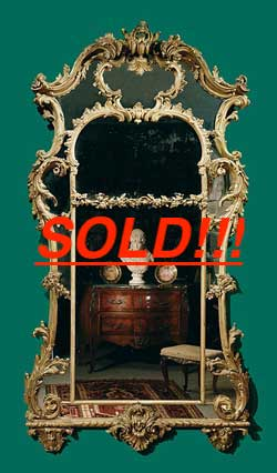 A George III Giltwood Mirror  (SOLD)