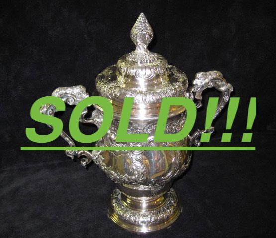 Sterling Silver Wine Cooler  (SOLD)