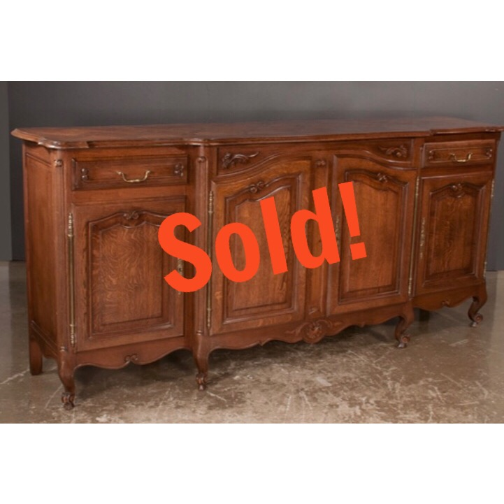 Country French Oak Buffet