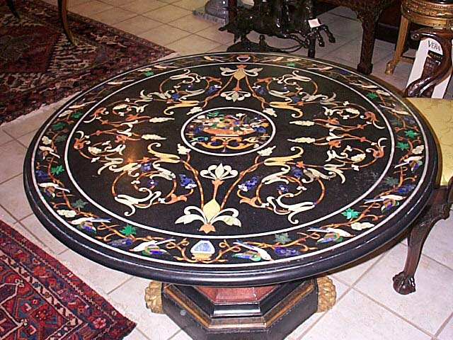 A Pietre Dure Centre Table.