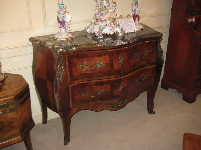A Kingwood Commode In The Louis XV Style